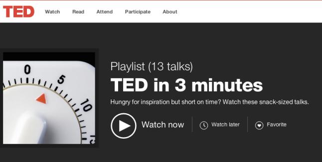 Inspiring Videos under 3 Minutes.