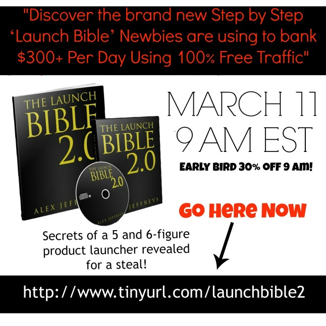 Click the Banner to Get Launch Bible 2.0