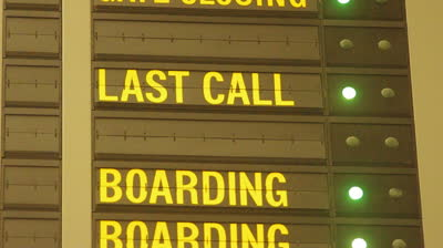 stock-footage-blinking-last-call-message-on-airport-flight-information-board-loop-and-seamless-video
